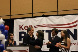 ken paxton family